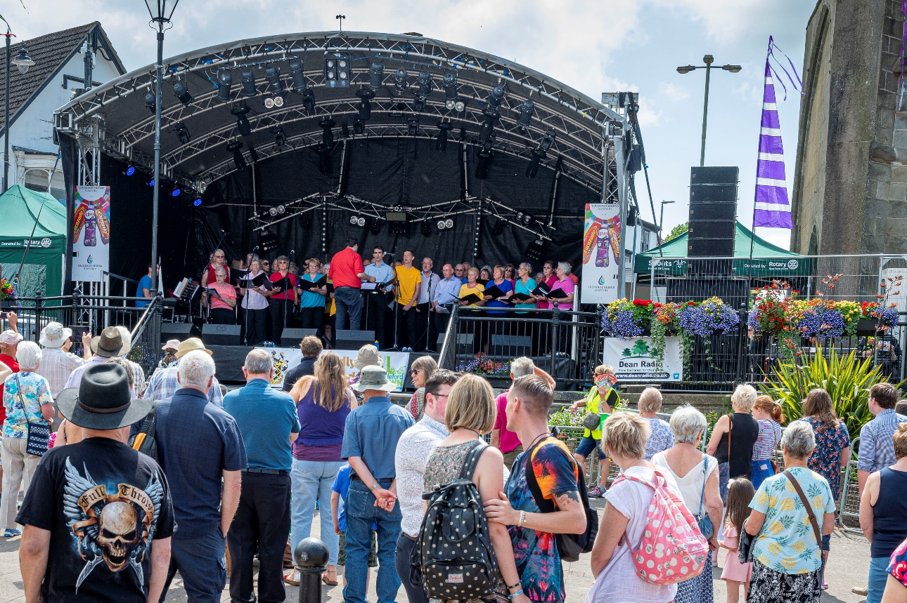 Coleford Community Choir Forest of Dean - Coleford Music Festival 2019
