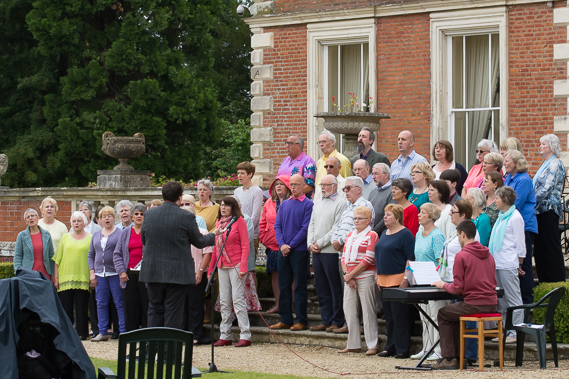 Coleford Community Choir at Highnam